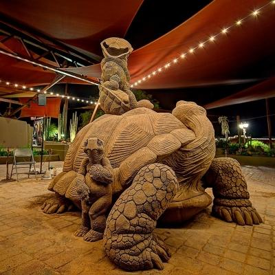 Carefree Sand Sculpture turtle