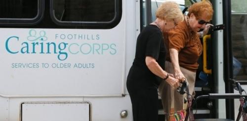 Foothills Caring Corps van service
