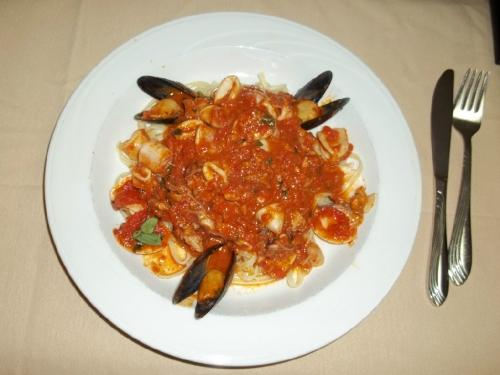 Giordano - mussels in pasta