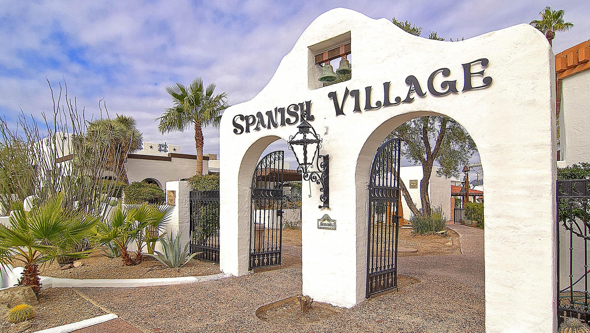 Spanish Village in Carefree, AZ