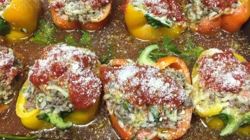 corrados stuffed peppers